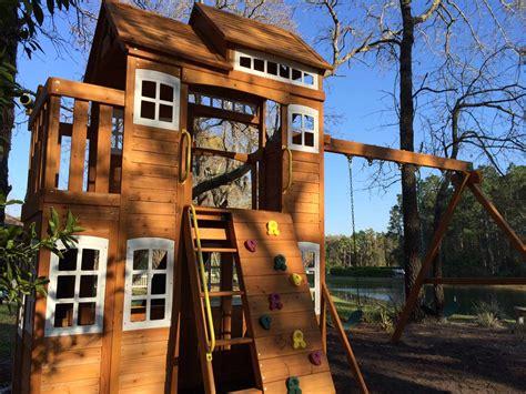 outdoor garden design awesome cedar summit playset