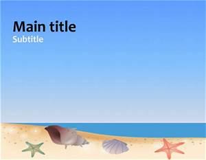 best photos of beach powerpoint template beach theme With beach themed powerpoint templates