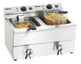 Buy Kitchen Cabinets by Electric Double Deep Fat Fryer With Oil Drain Tap Quot Imbiss