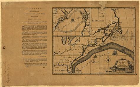 gulf stream franklin map chart ben florida fishing northeast benjamin currents ocean canyons 1786 forecast happen poupard james seasonal much