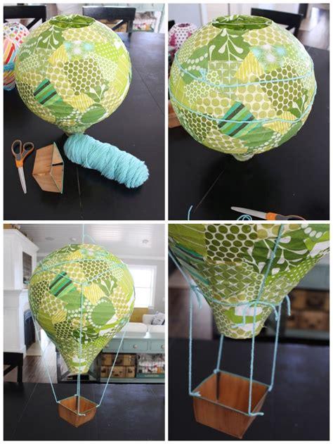 kreative ideen wie sie einen heissluftballon basteln