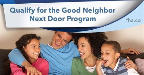 next door program 2018 qualify for the next door program fha co