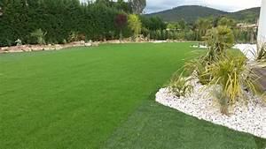 Gazon En Plaque : gazon et plantation cr ation de jardins brignoles var ~ Premium-room.com Idées de Décoration