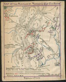 map   position  turners gap south mountain