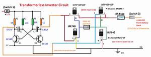 Circuit Diagram Of Transformerless Inverter