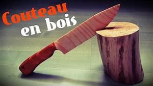 Couteau à Bois : comment faire un couteau en bois youtube ~ Edinachiropracticcenter.com Idées de Décoration