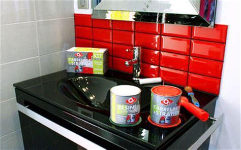 peinture speciale cuisine repeindre le carrelage de la crédence de ma cuisine côté