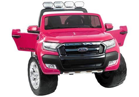 ford ranger elektroauto elektroauto f 252 r kinder ford ranger rosa fm radio 4x45w 2