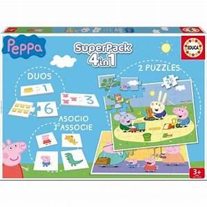 Jeux Enfant 4 Ans : superpack de 4 jeux peppa pig la grande r cr vente de ~ Dode.kayakingforconservation.com Idées de Décoration