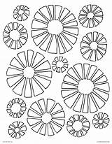 Disco Coloring Pages Ball 70s Retro Printable 70 Flowers Adults 1970 Getdrawings Getcolorings Template sketch template
