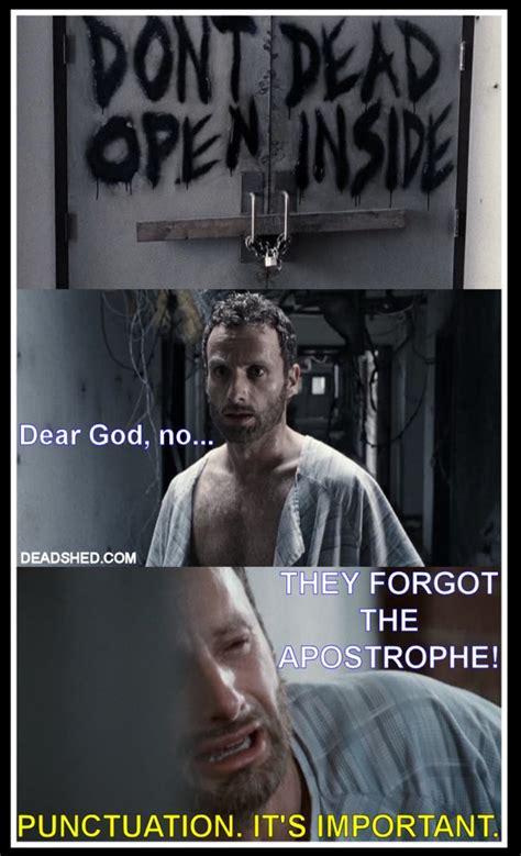 The Walking Dead Funny Memes - the walking dead memes