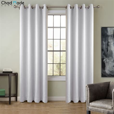 Window Curtains by Chadmade Wide Solid Color Window Curtain 1 Panel
