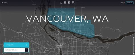 As Uber Launches In Vancouver Wa, Portland Is One Of Just