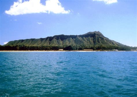 Travel Trip Journey Diamond Head Crater Hawaii