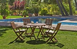 Salon De Jardin Acacia : salon de jardin acacia siria 4 places avec coussins beige fonc meubles de jardin ~ Teatrodelosmanantiales.com Idées de Décoration