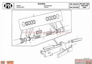 Pm Hydraulic Crane Series 14 Spare Parts Catalog