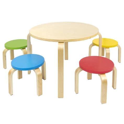 table et chaises enfants table et 4 chaises enfant meuble enfant mobilier chaise d 39 enfant baby achat vente chambre