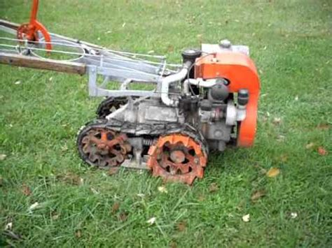 Vintage Garden Tractors by Vaughan Flex Tred 1946 Antique Garden Tractor