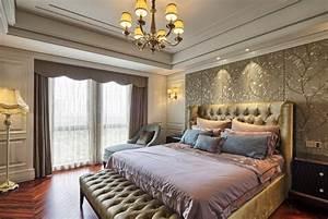Tapeten Im Schlafzimmer : tapeten mehr 12 ideen zur wandgestaltung im schlafzimmer ~ Sanjose-hotels-ca.com Haus und Dekorationen