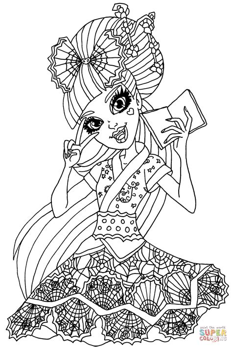 draculaura exchange student coloring page  printable