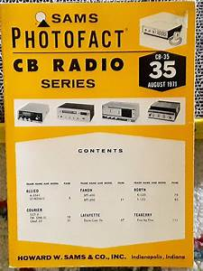 Sams Photofact Cb Radio Series Cb
