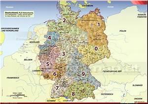 Berlin Plz Karte : deutschland postleitzahlenkarte 1 2 3 stellige plz gebiete pro ~ One.caynefoto.club Haus und Dekorationen