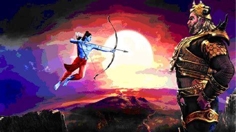 ram ravan dussehra wallpaper hd  uploaded