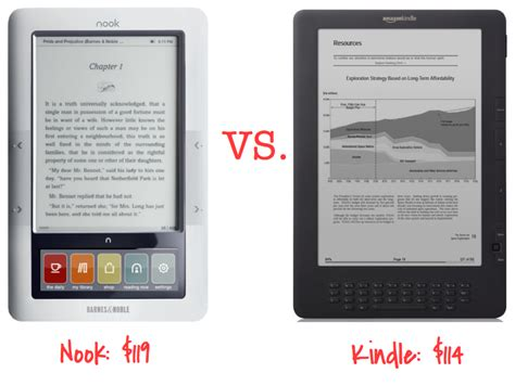 Nook Vs. Kindle…help