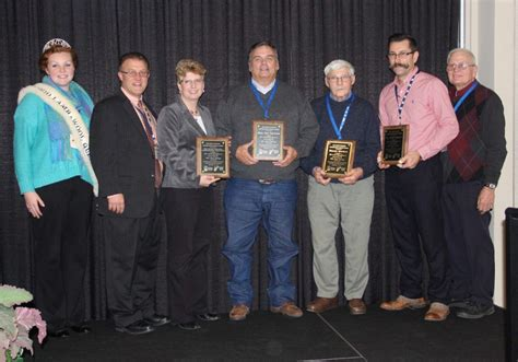 roger bureau ohio sheep producers honor peers and industry supporters