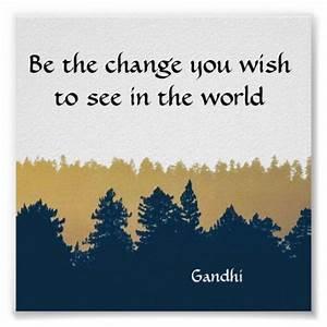 Inspirational G... Printable Gandhi Quotes
