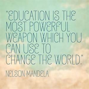 Education Is The Most Powerful Weapon Poster : 282 best teaching quotes images on pinterest ~ Markanthonyermac.com Haus und Dekorationen