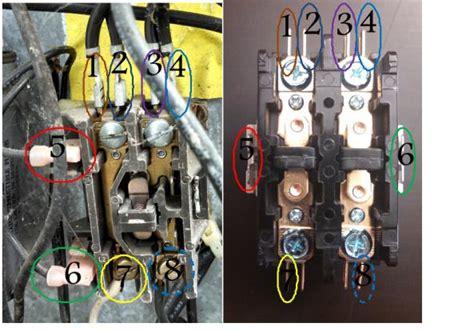 single pole to double pole contactor exchange