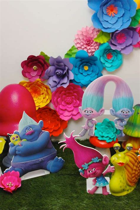 trolls birthday party ideas photo    catch  party