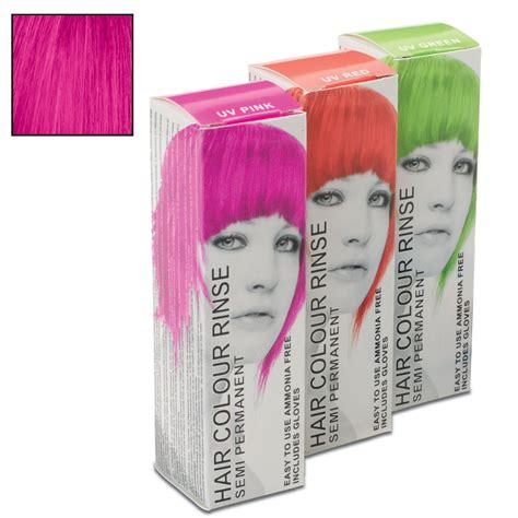 Uv Pink Semi Permanent Hair Colour Rinse Dye Stargazer 70ml