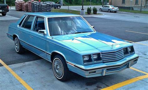 Weekend Edition Quick Hit  A 1983 Dodge 600 Sedan; When