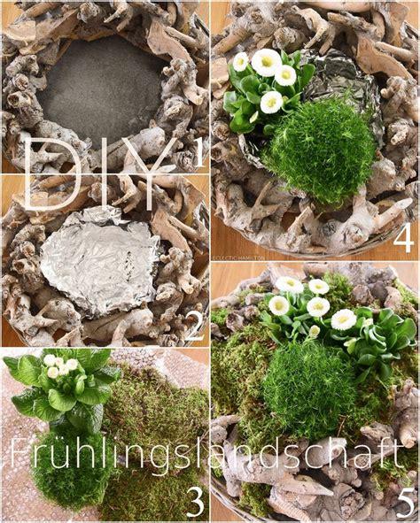 diy fruehlingsdeko basteln mit naturmaterialien selber