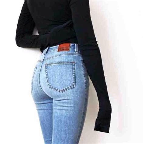 Jeans blue skinny denim light dark navy comfy cozy formal caual cute cool tumblr ...