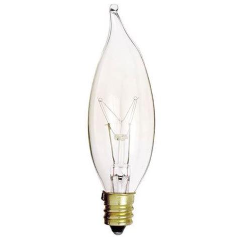25w bent tip clear light bulbs