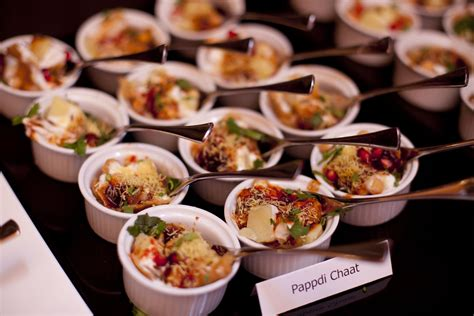 indian canape pappadi chaat canapes weddingfood http collection26