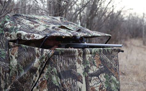 ground blinds for deer 6 tips for in ground blinds grand view outdoors