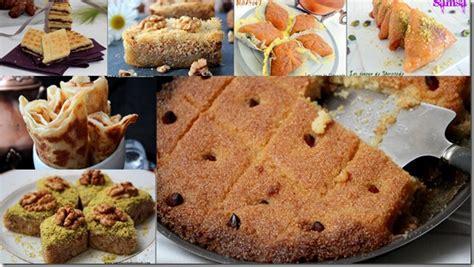 jeux concours cuisine gâteaux algériens et pâtisseries au miel pour ramadan 2015