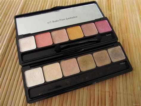 E L F Studio Eyeshadow e l f studio prism eyeshadow review makeupfu