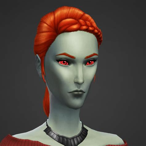 any fellow simming tes fans here i just made a dunmer in the sims 4 cas demo thesims