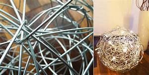 Lampen Aus Holz Selber Bauen : lampe selber bauen aus metalldraht papier oder holz diy ~ Frokenaadalensverden.com Haus und Dekorationen