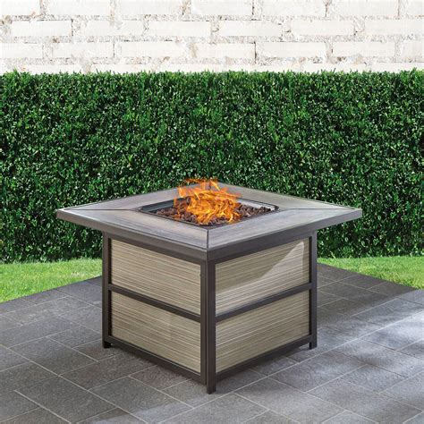 I've included some affiliate links to products i used in this project. Hanover Chateau 40,000 BTU Gas Fire Pit Coffee Table, CHATEA