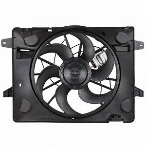 2004 Mercury Grand Marquis Cooling Fan Assembly Radiator