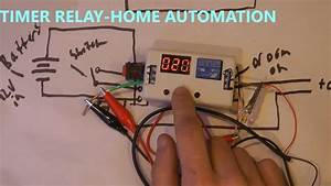 How To Use 12v Timer Delay Relay Circuit And Wire Diagram