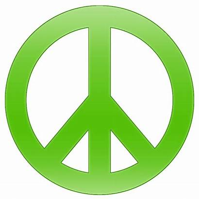 Peace Symbol Clipart Hippi Icon Piece Signs