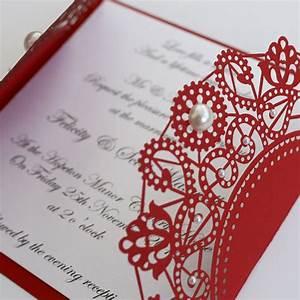 red wedding invitations red wedding invitations With red nell wedding invitations