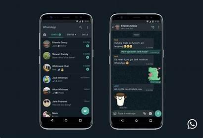 Whatsapp Iphone Mode Dark Android Smartphone Finally